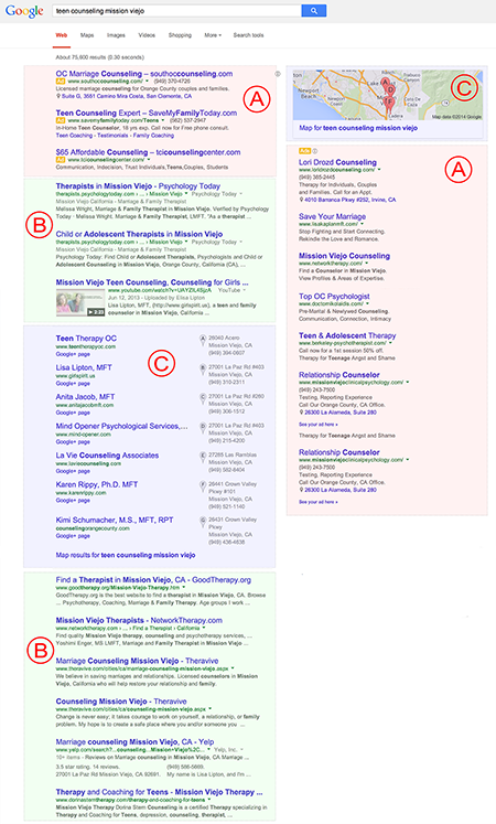 Google Search Results - Example 2