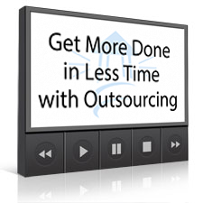 Get More Done in Less Time with Outsourcing