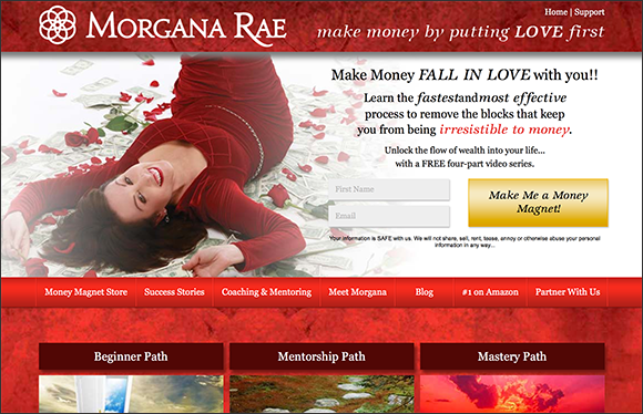 Morgana Rae Home Page